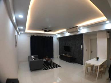 Fully Furnished Renovated Radia Residence Bukit Jelutong, Shah Alam