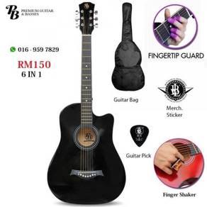 PB Akustik Gitar 38inch SET - Ready Stock