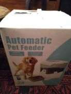Two pet feeders