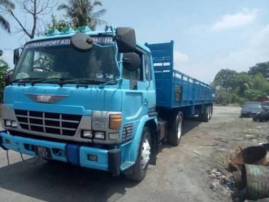 Hino EK100 40ft Open Cargo