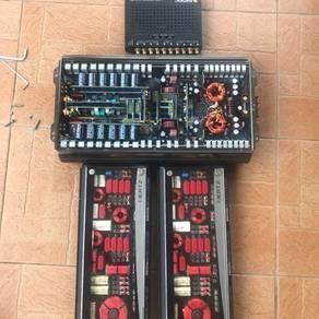 Sound system Audison, Hertz car amplifier