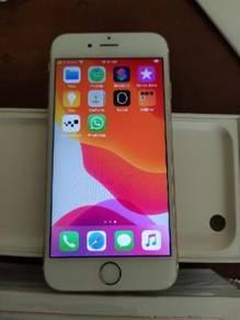 IPhone 6s Original 32GB Gold Malaysian Set