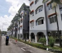 Daya view Apartment low cost house taman daya -full loan