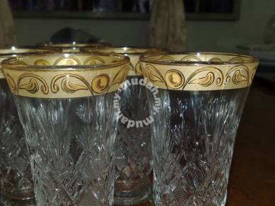 Cawan gelas drinking glass cup 6