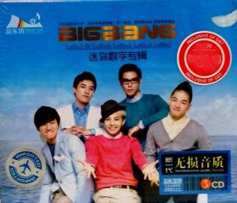 IMPORTED CD BigBang Greatest Hits 3CD
