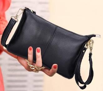 Women Leather Clutch & Sling Bag Shoulder Tote Han
