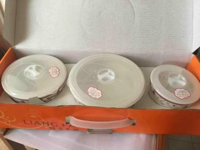 (baru )Ceramic Container (set of 3)