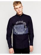 Fred Perry Men's X Drakes Long sleeve shirt