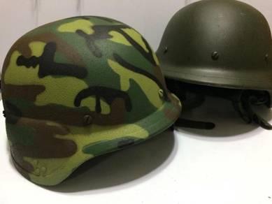 Topi askar army helmet