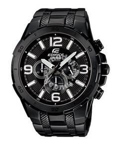 Watch- Casio EDIFICE BIG FACE EFR538BK-1 -ORIGINAL