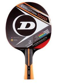 Dunlop Table Tennis/PingPong Racket Evolution 1000