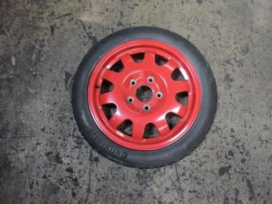 Porsche Boxster 986 996 Ori 3.5Jx17 Spare Tyre