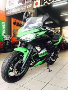 Kawasaki Ninja 650 ABS 2018 (0% GST)