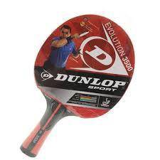 Dunlop Table Tennis/PingPong Racket Evolution 2000