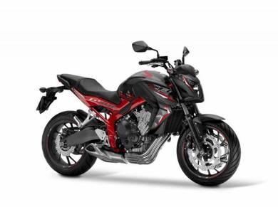 2018 Honda cb650f se cb650 new bike