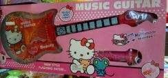 Kitty Music Guitar