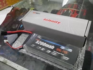 Infinity 3s 11.1V 5200mAh 35C Rc Lipo Battery Pack