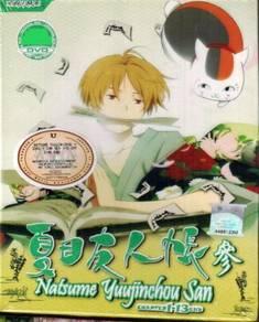 DVD ANIME Natsume Yunjinchou San Vol.1-13 End