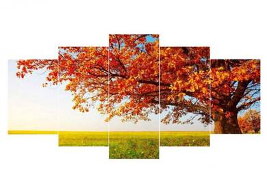 Autumn Trees Canvas Art Set