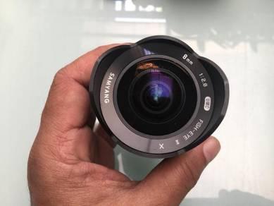 Samyang 8mm f2.8 fisheye for Fujifilm Xmount