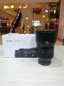 Zeiss batis 85mm f1.8 lens-sony e mount*99.99% new