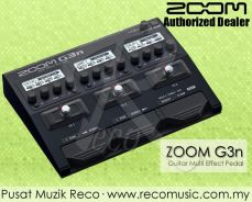 Zoom G3N Guitar Multi Effects Pedal - Free Adapter