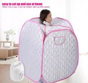 Steam sauna portable to let go