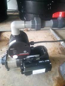 Grundfos CM3-4PM1 Booster Water Pump Pam Air
