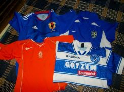 Holland Brazil Japan MSV 4 pcs combo jersey XS
