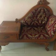 Side Sofa Kayu Jati