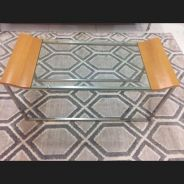 Meja Kaca coffee table