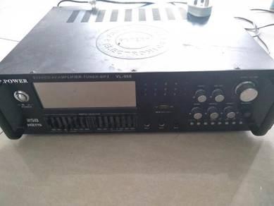 Amplifier tip top