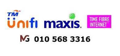 Tm unifi modem & maxis fibre wifi time modem Park