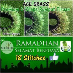 Artificial Grass / Serat-C Rumput Tiruan Carpet 03