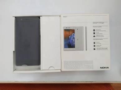 Model nokia 3 matte black secondhand untuk dijual