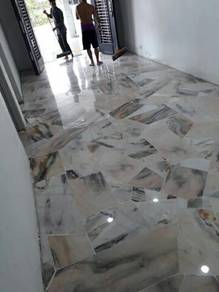 ZZZ Polishing Parquet Painting marble tiles