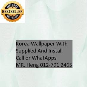 3D Korea Wall Paper with Installation gfr432