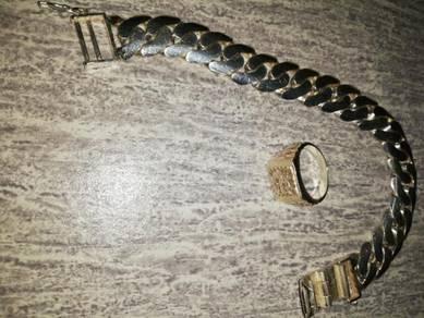 Banggle silver 925 & cincin naga silver