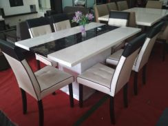 Dining Table Marble 5 Ft