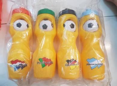 World Cup Sports Water Bottle 4pcs