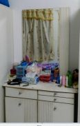For Sale Dressing Table White,with Stool