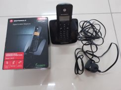 Motorola C401P cordless phone wireless phone