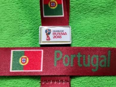 Tali Tag Piala Dunia 2018 - Portugis