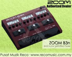 New Zoom B3N Bass Guitar Multi Effect Pedal