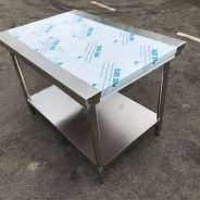 4Ft stainless steel table ( meja )