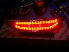 Honda city rear bumper reflector bumper lamp