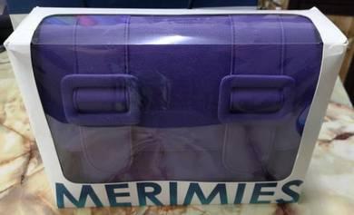 Merimies Plain Pretty L Purple Sling Bag