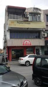 3 storey Taman Megah Shophouse for Sale