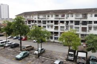 Pandan Indah Dahlia Apartment 3r2b walk 5min to LRT Pandan Indah