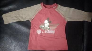 Disney baby T-shirt (L/S),(3-36m)